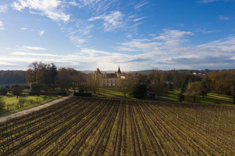 Prise de vue drone Château