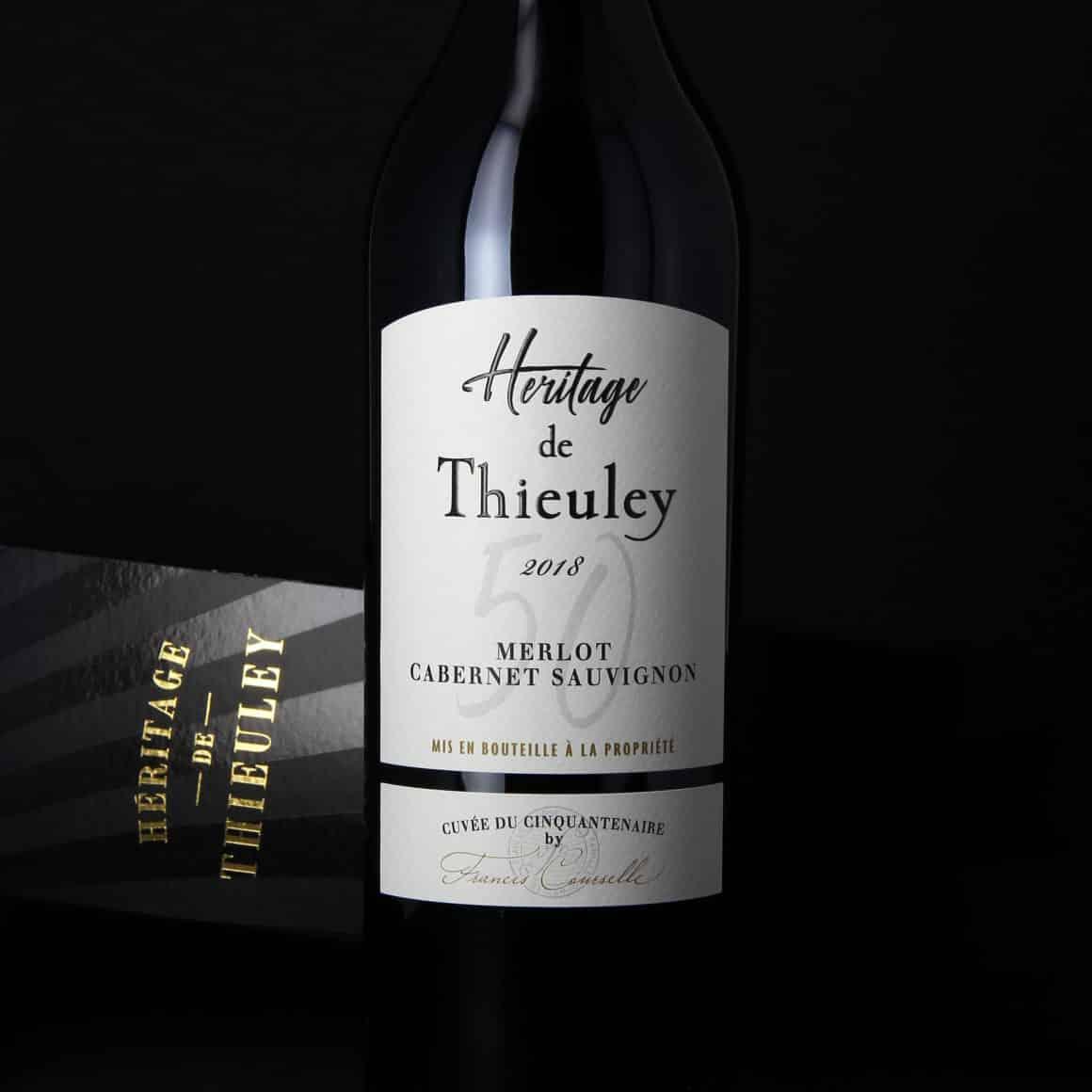 Packshot Héritage de Thieuley 2018